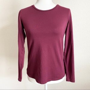 Boden Super soft Long Sleeve Crew Neck Top Small